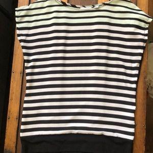 New York & Company Striped Top